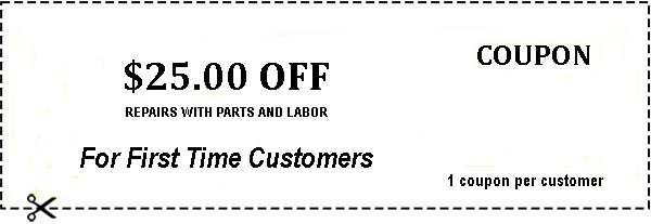 Appliance Repair Save $25 Today