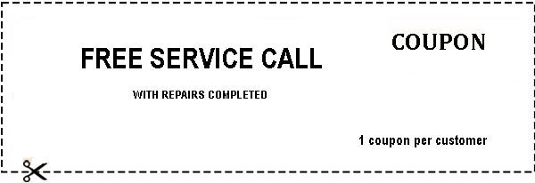 Appliance Repair Free Service Call Today